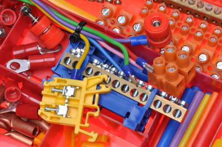 electrical component: Electrical component kit used in electrical installations