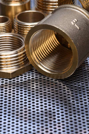 coupling: Brass Fittings for Water and Gas