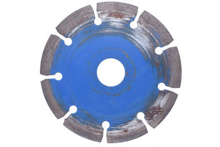 disc: Used Diamont cutting disc Stock Photo