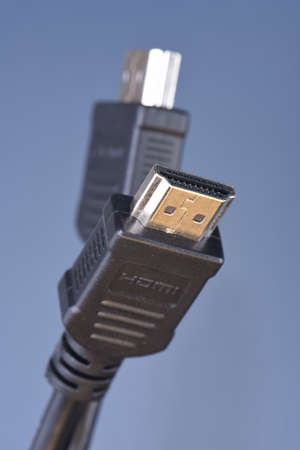 hdmi: HDMI standard cables Stock Photo
