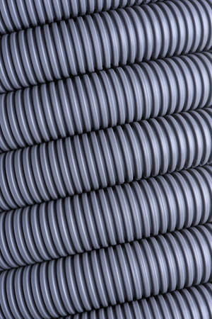 pipework: Corrugated pipe for installation of electrical cable