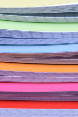 writing materials: Stack of exercise books