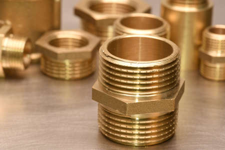 Brass Fittings for Water and Gas