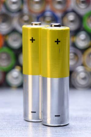 Old Alkaline Batteries