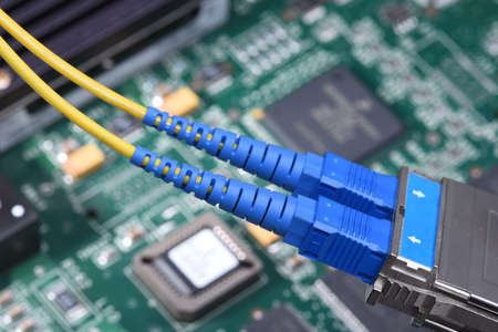 Fiber Optic Patch Cords Internet Network Devices