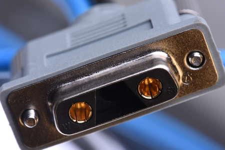 Electric outlet closeup