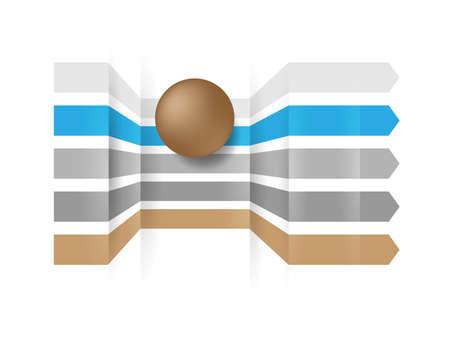 Transfer Data in IT Network Systems Logo Design