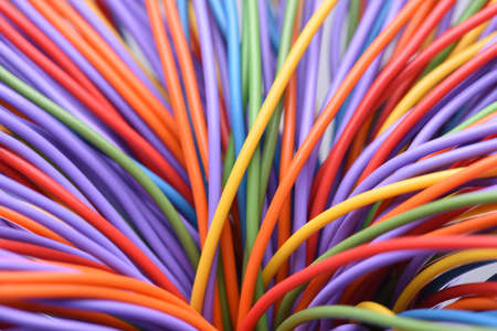 Colored wire and cable