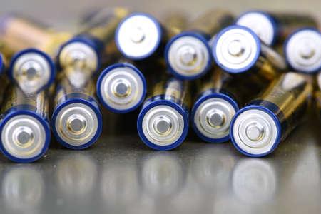 Group of alkaline batteries AAA