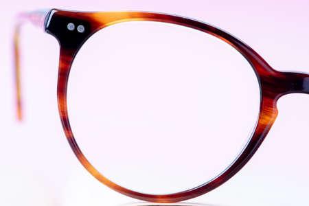 Reading glasses macro Stock fotó