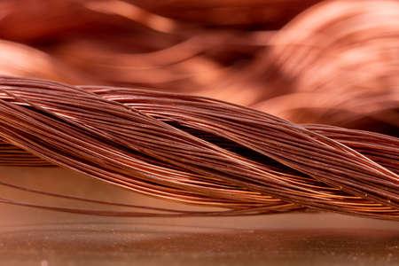 Alambre de cobre, metales no ferrosos, industria metalmecánica de productos