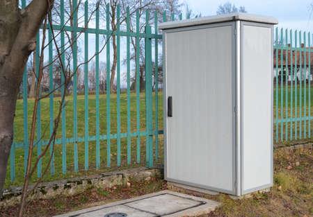 Telecommunication infrastructure outdoor street cabinet