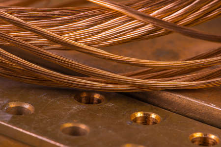 Copper raw materials energy industry