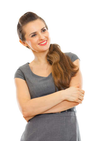 Portrait of woman looking on side Stock Photo - 12351039