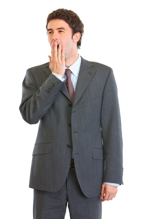 yawing: Retrato de gui�ada empleado