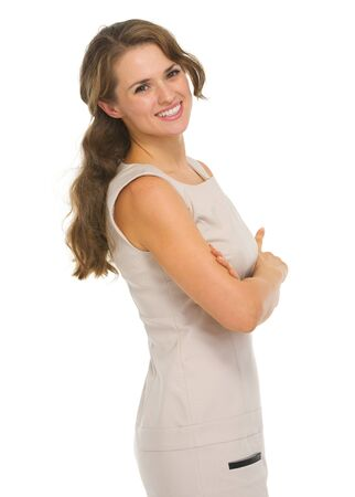 Portrait of happy young woman Stock Photo - 18788094