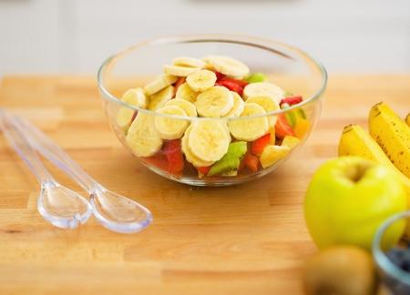 Closeup on fruits salad Stock Photo - 20545301