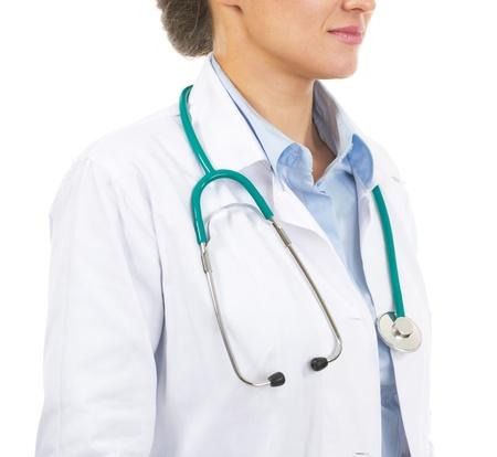 Closeup on doctor woman Stock Photo - 21567986