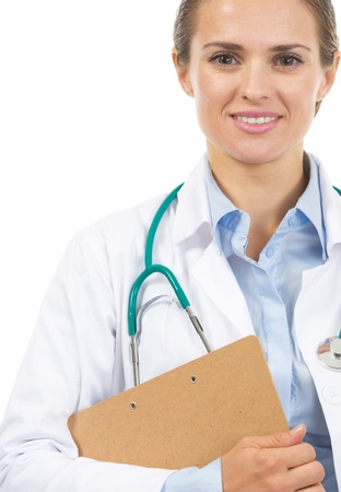 Portrait of happy doctor woman Stock Photo - 21567992
