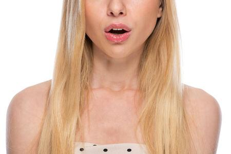 Closeup on surprised teenager Stock Photo - 29338144