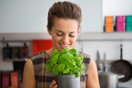 reminiscent: Oh, the delicious smell of fresh basil, reminiscent of holidays past spent in Italy.