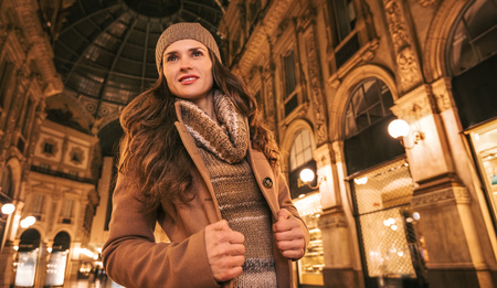 get ready: Get ready to making your way through shopping addicted crowd. Stock Photo
