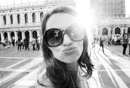 Sending you love and kisses from St. Marks Square in Venice... Wish you were here...
