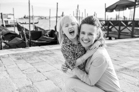 A little bit of the giggles is the magic ingredient for making touring fun with a child!