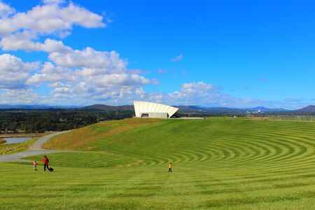 Canberra: Aboretum Canberra Australia Stock Photo