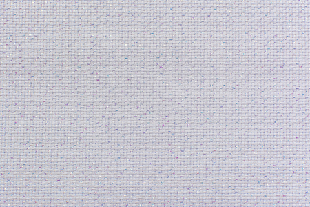 lurex: White natural linen fabric with brilliance lurex close-up. Aida texture for the background