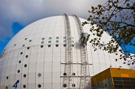 ericsson: Ericsson Globe in Stockholm Editorial