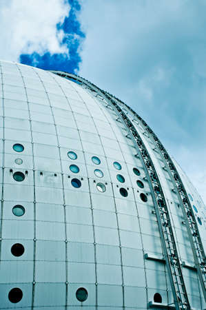 roundish: Ericsson Globe in Stockholm Editorial