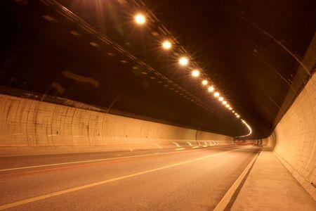 Tunnel under the ground photo