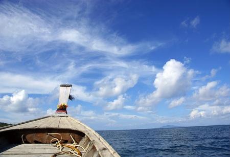 boat sailing in the sea Stock Photo - 10510465