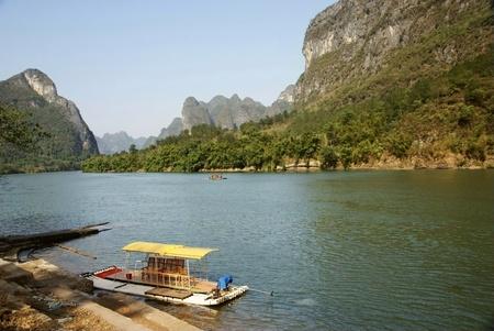 Li river landscape,yangshuo,china photo