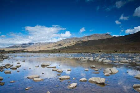 Plateau scenery,daocheng,china Stock Photo - 11152524