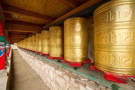 prayer wheel,sichuan,china