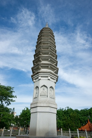 Chinese ancient pagoda photo