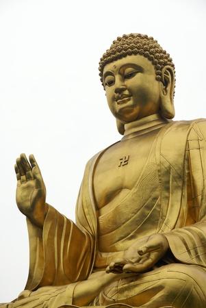 黄金の仏像 写真素材