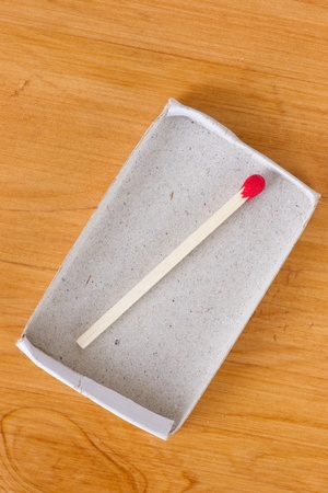 conclusive: Last one matchstick in box