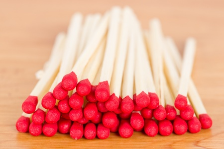 A pile of match