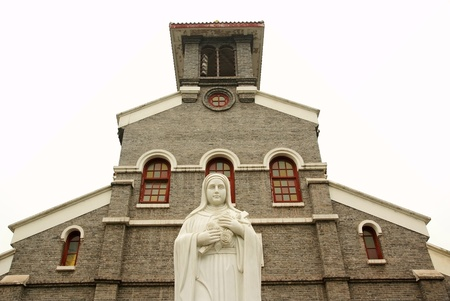 vestal: Madonna with church