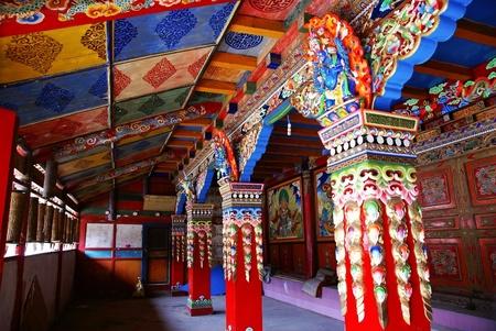 チベットの寺院 写真素材 - 11887119