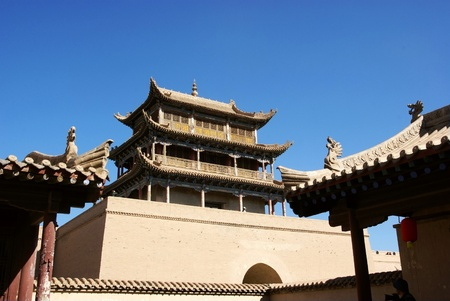 Chinese ancient city Stock Photo