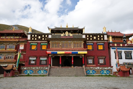 Tibetan temple Stock Photo - 12210907
