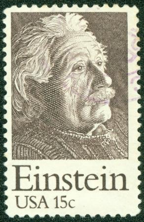 ユナイテッド州年頃 1979年米国で印刷された郵便切手 1979 年頃、アルバート ・ アインシュタインの画像を表示
