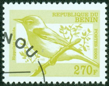 BENIN - CIRCA 2000  stamp printed by Benin, shows bird, circa 2000  photo