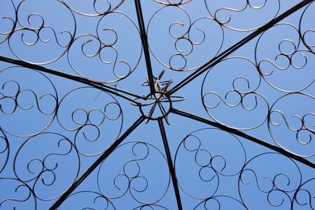 steel art roof with blue sky Stock Photo - 15146812