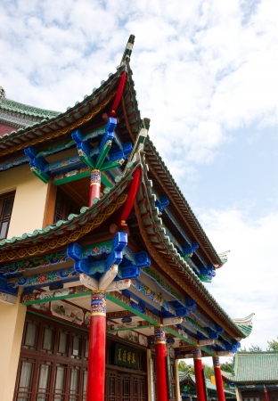 historic building kunming in yunnan,chi na photo