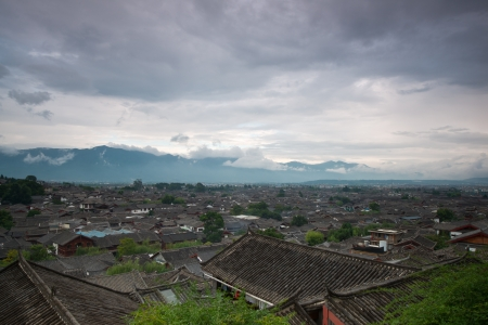 Lijiang old town, yunnan, China photo